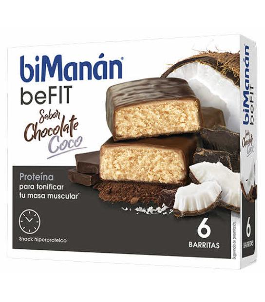 Comprar: BIMANAN BEFIT PRO BARRITAS CHOCOLATE Y COCO, Farmadina.com