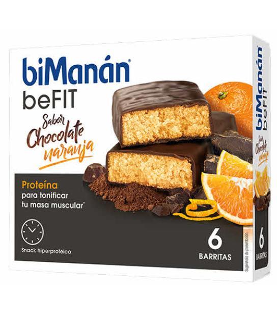 Comprar BIMANAN BEFIT PRO BARRITAS CHOCOLATE NARANJA