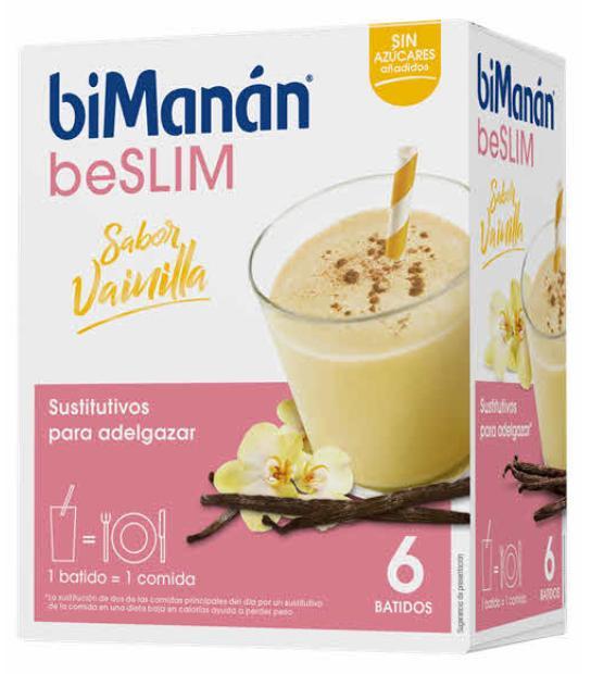 comprar BIMANAN BESLIM BATIDO DE VAINILLA 5 + 1 SOBRES