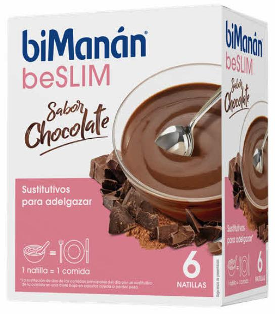 BIMANAN BESLIM NATILLAS CHOCOLATE 5 SOBRES + 1 SOBRE DE REGALO