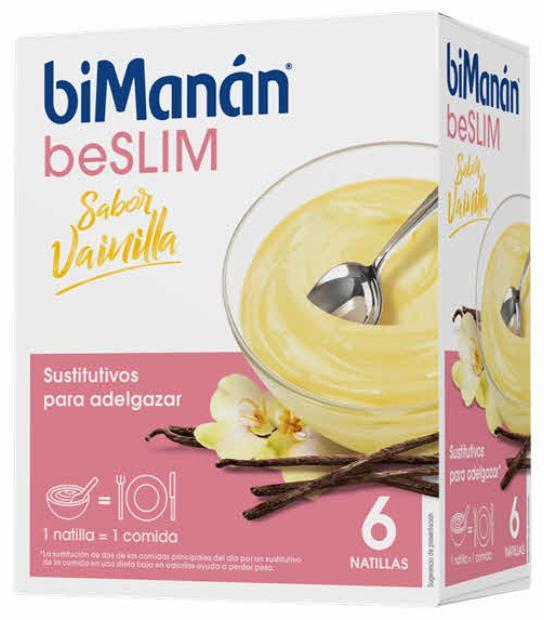 BIMANAN BESLIM NATILLAS VAINILLA. 5 SOBRES + 1 SOBRE DE REGALO