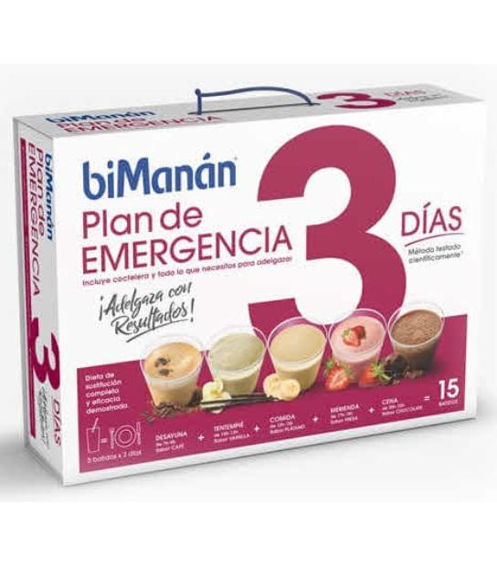 BIMANAN PLAN EMERGENCIA 3 DIAS (antes Complet Diet)