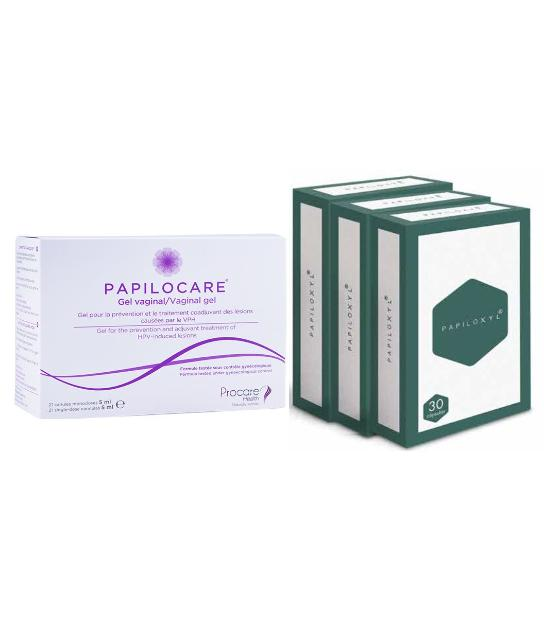 PACK PAPILOCARE 21 CANULAS + 3U PAPILOXYL 3O CAPSULAS