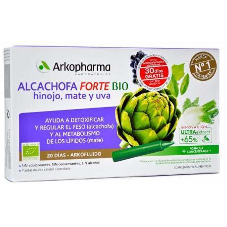 Comprar: ARKOFLUIDO ALCACHOFA HINOJO FORTE 20 VIALES 15 ML, Farmadi...