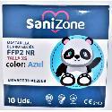COMPRAR MASCARILLAS FFP2 INFANTIL HOMOLOGADA 10U color Azul