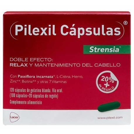 Comprar PILEXIL CAPSULAS STRENSIA 100 CAPSULAS