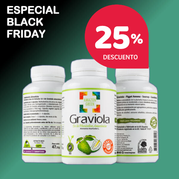 Black Friday Graviola Amazon Green