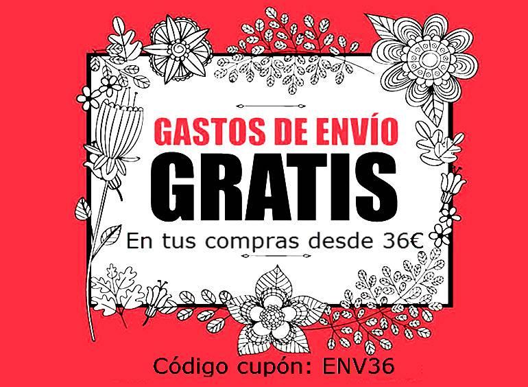 Promocion Primavera-Verano 2018 envios gratis
