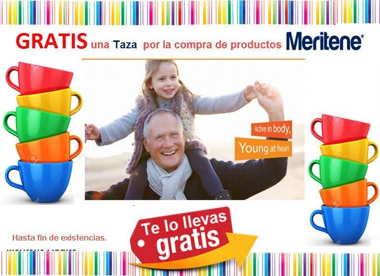Taza Meritene Gratis